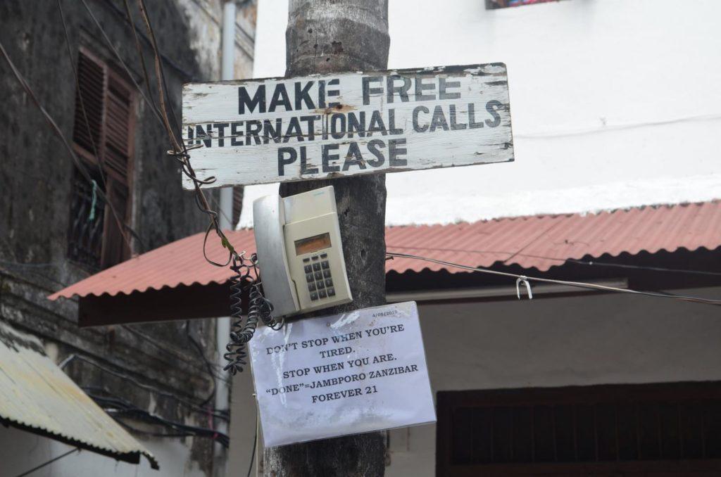 Make free calls napis