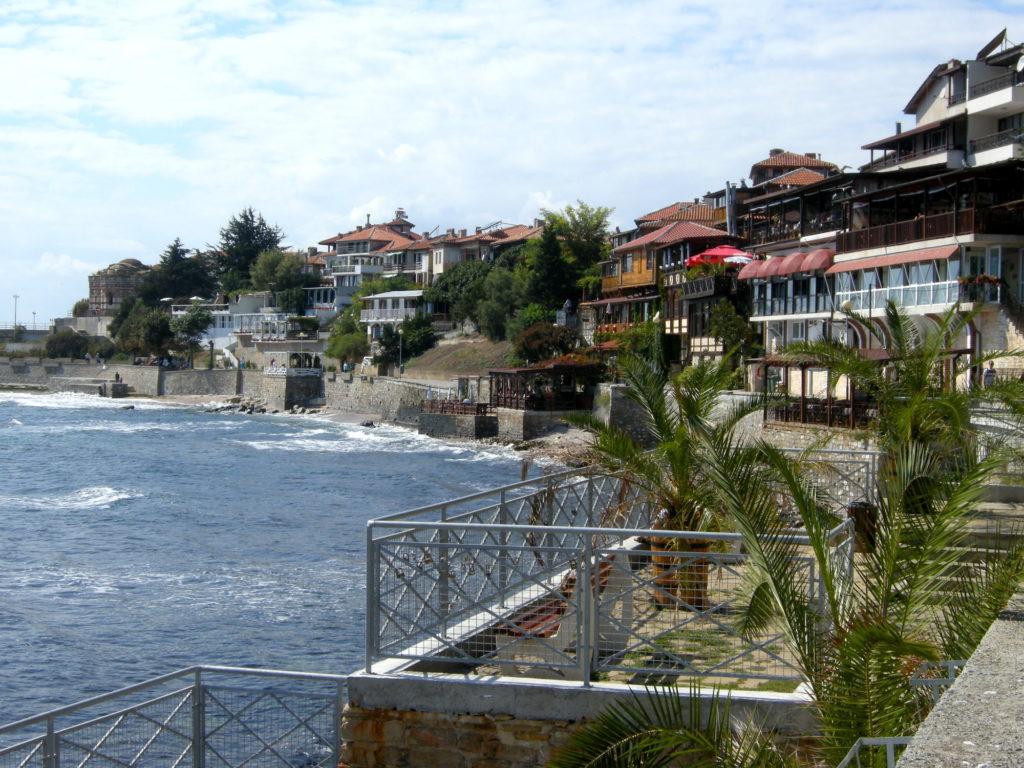 Stare miasto Nesebaru wybrzeże