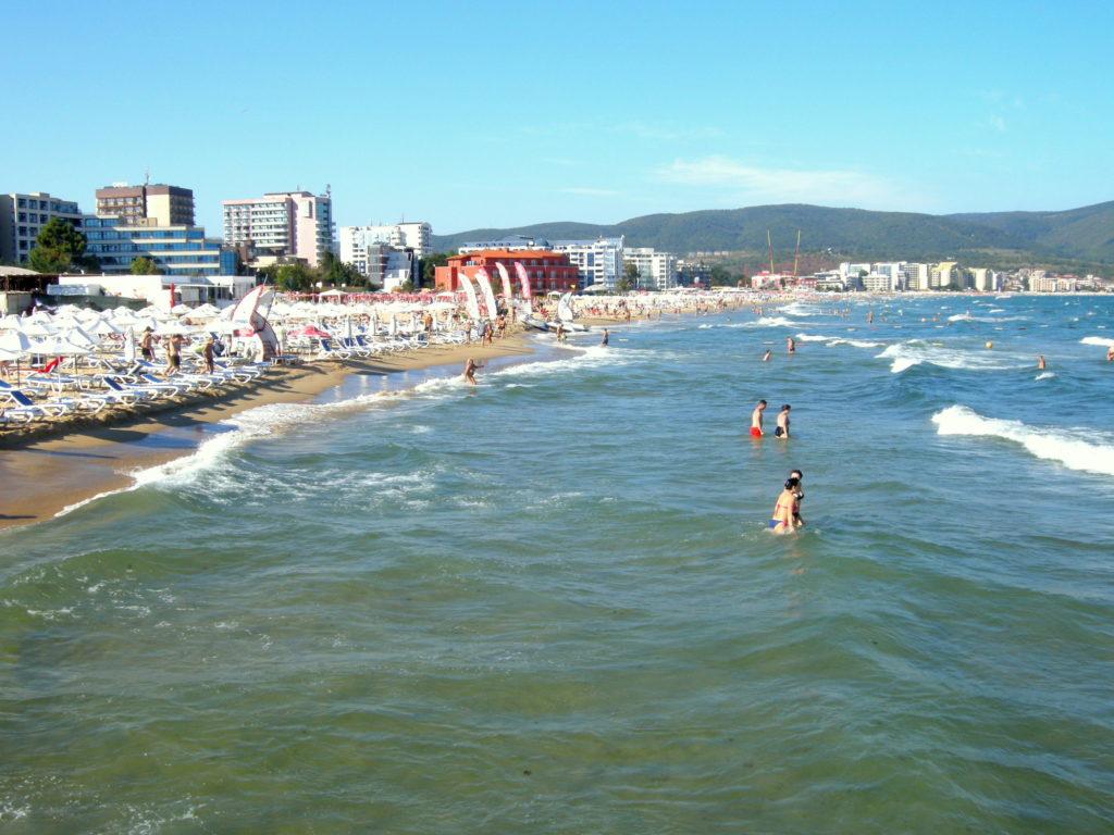 Plaża Słoneczny Brzeg Bułgaria
