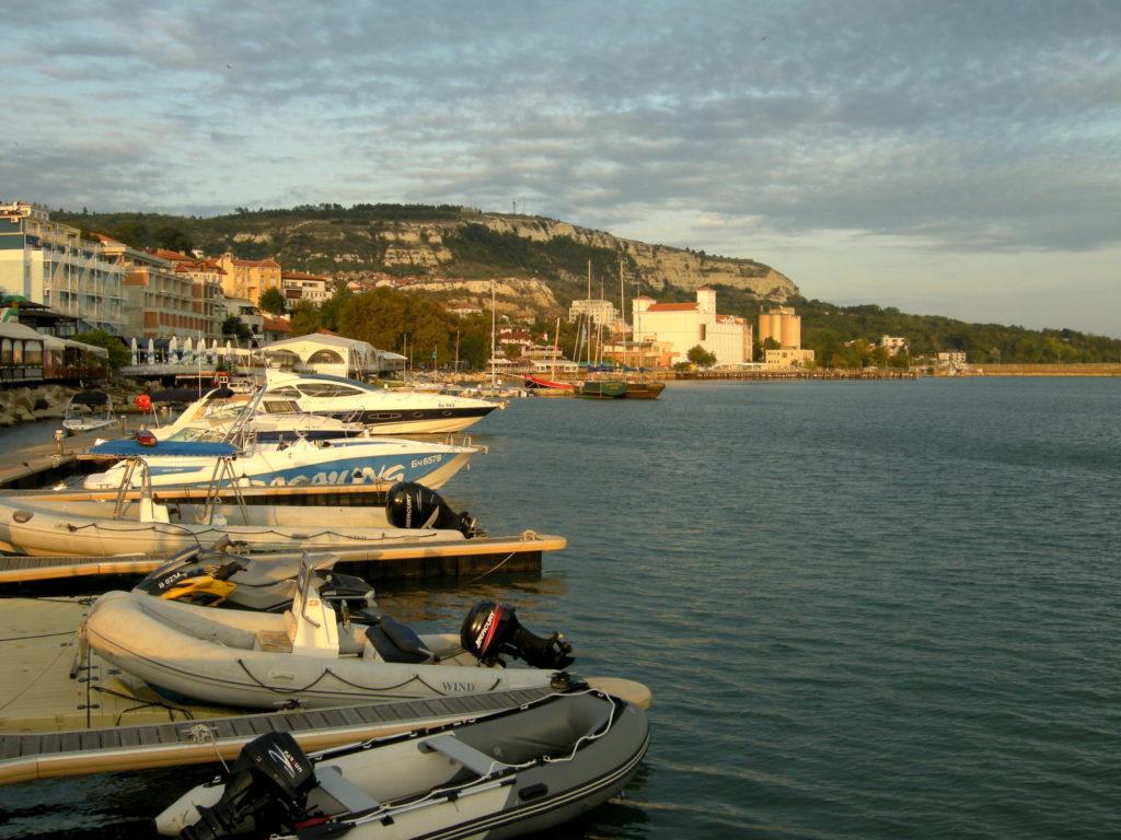 Port w Balchik