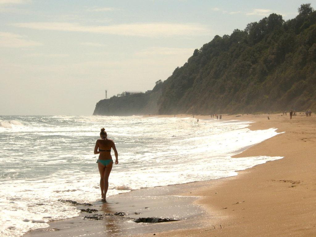 Spacer plażą w Byalej