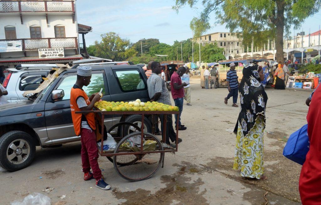 Sprzedawca mango