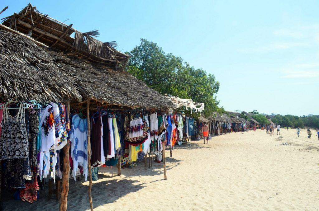 Sklepiki na plaży