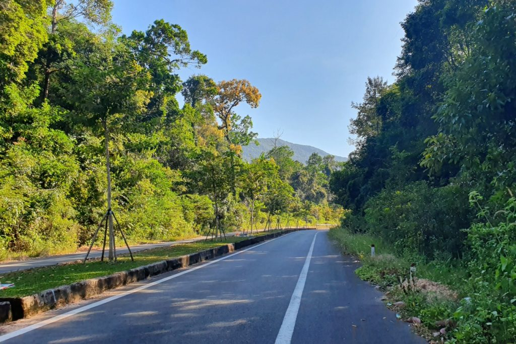 Droga przez dżunglę Phu Quoc