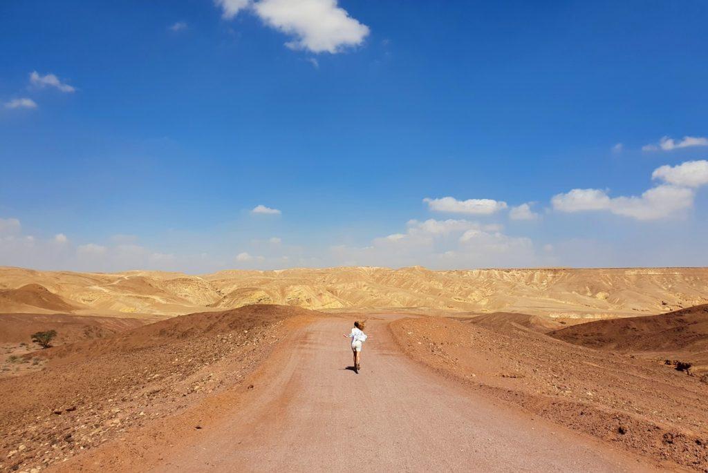 Bieg do Red Canyon przez pustynię