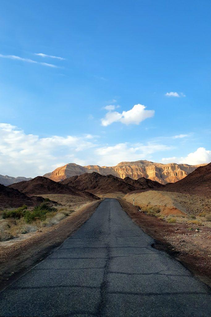Droga Timna Park Red Canyon
