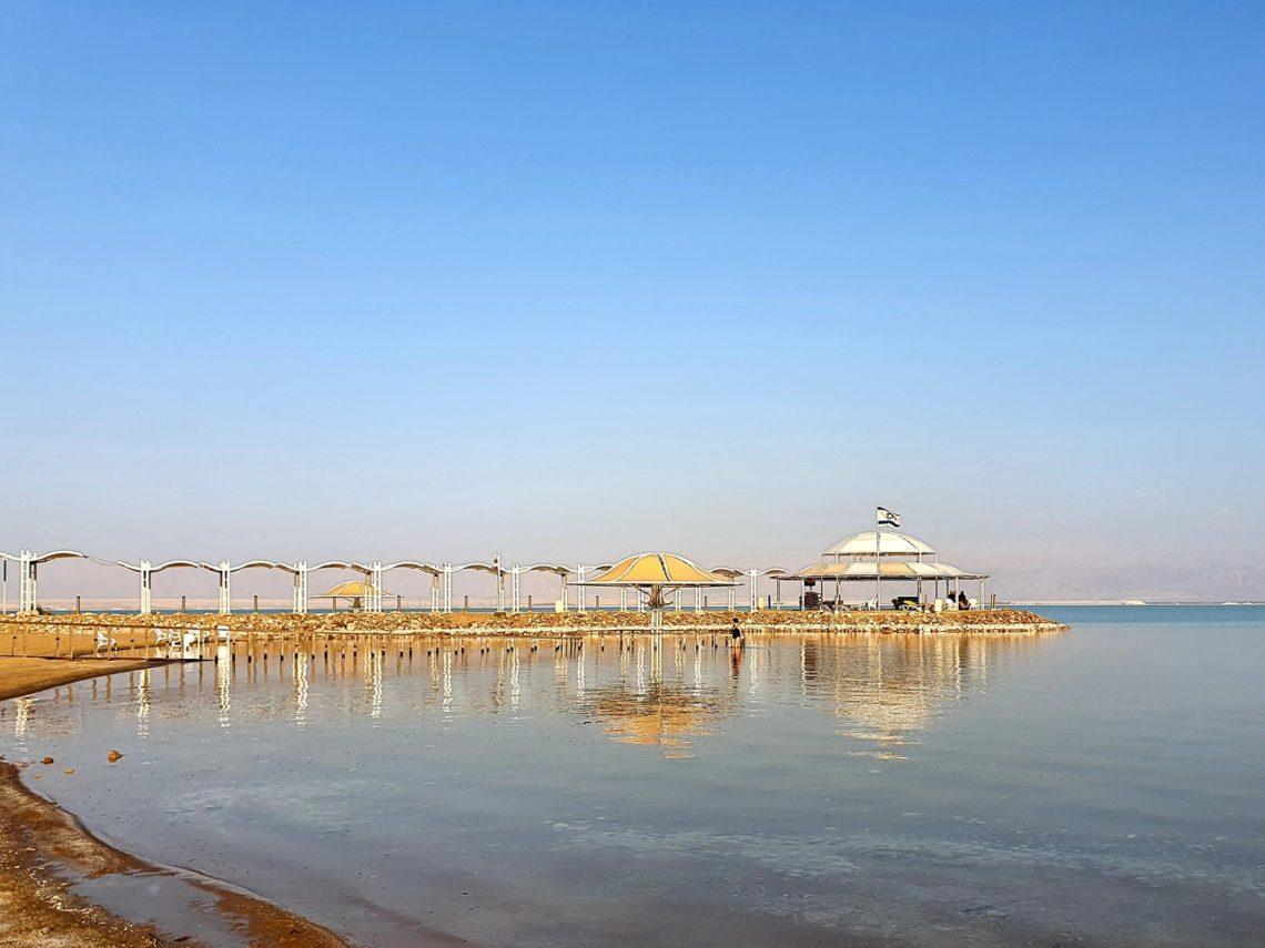 Plaża nad Morzem Martwym Ein Bokek