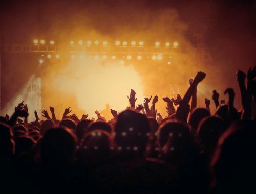 Tłum podczas koncertu