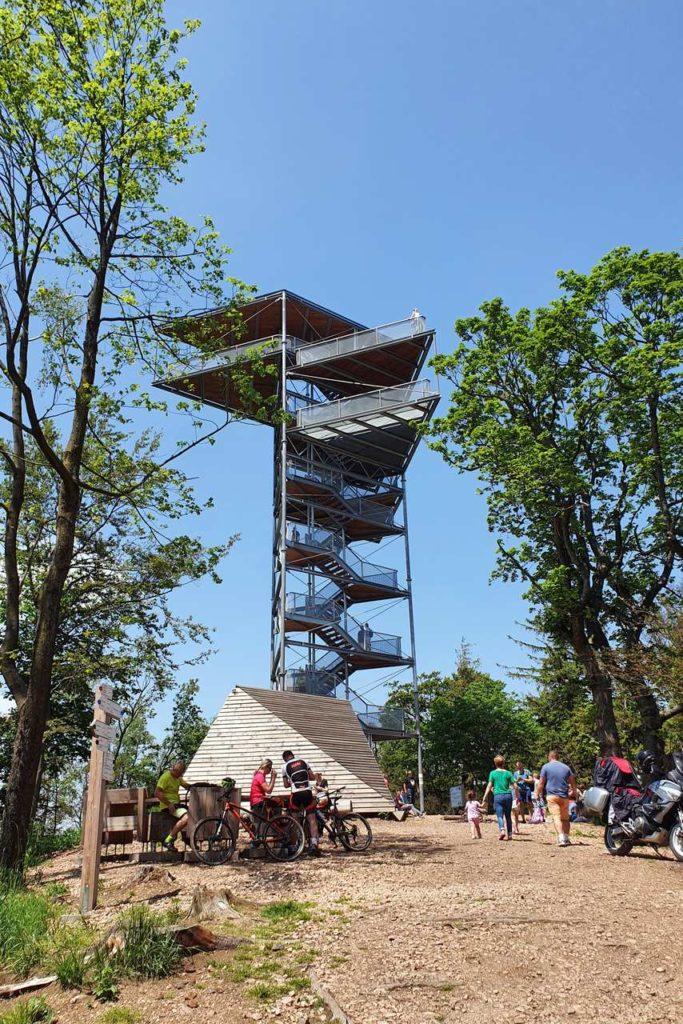 wieża widokowa Trójgarb