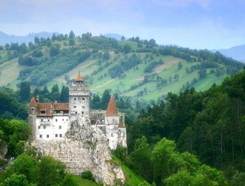 Zamek Bran Drakula Transylwania