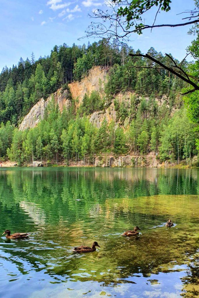 Adrspach jezioro