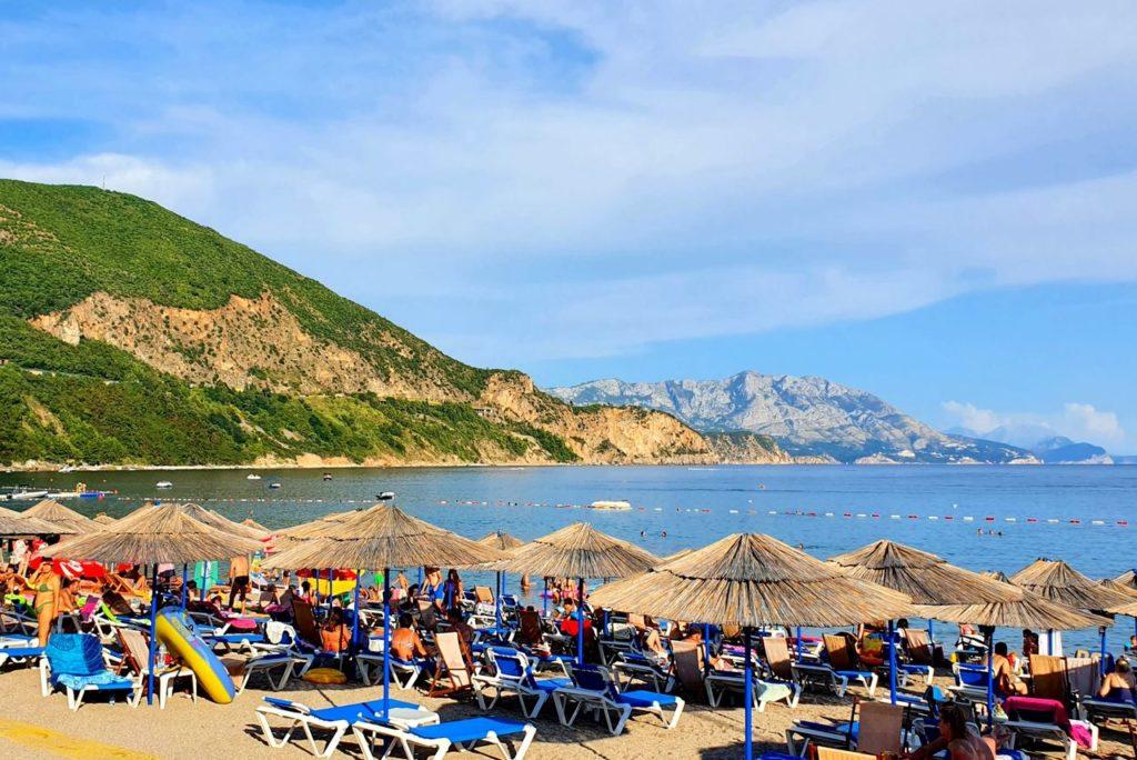 plaża Jaz Czarnogóra